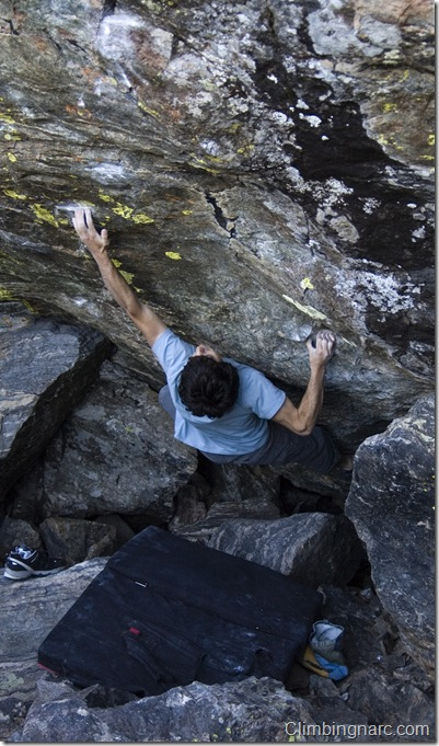 Paul Robinson working Top Notch