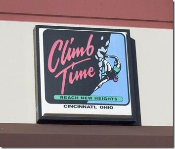 Climb Time Blue Ash