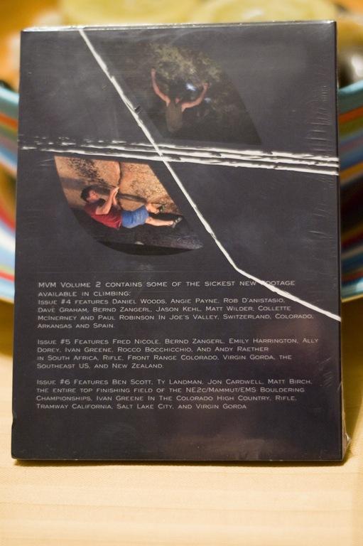 Momentum Video Magazine Volume 2 Back Cover