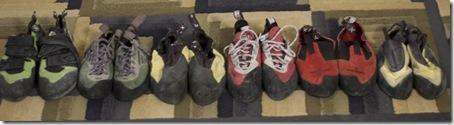 Assortment of Five Ten Shoes