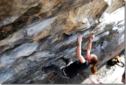 Flannery Shay-Nemirow climbing Center Direct at Morrison, CO