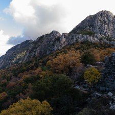 Rock surrounding Termessos