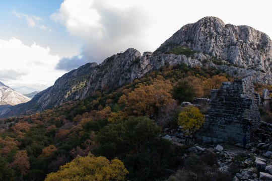 Rock surrounding Termessos