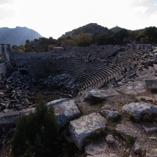 The theatre at Termessos