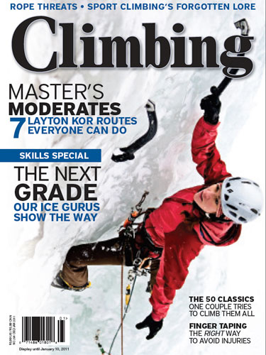Climbing #291 - December 2010
