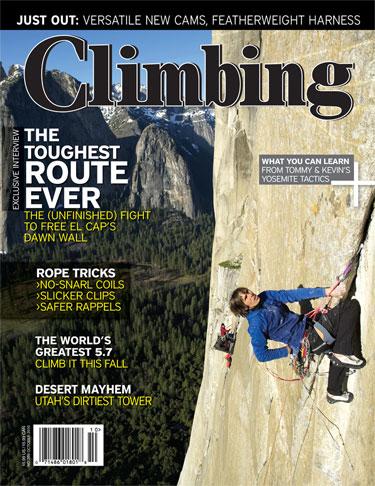 Climbing #289 - October 2010