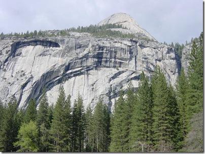 Royal Arches in Yosemite, CA