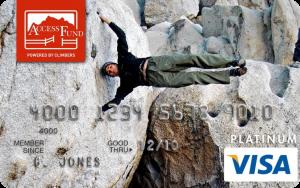 Access Fund Visa® Platinum Rewards Card