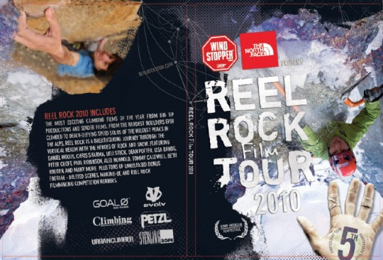 2010 Reel Rock Film Tour DVD Jacket