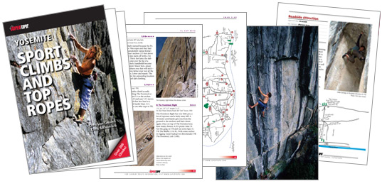 Yosemite Sport Climbs And Top Ropes