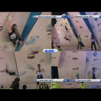 2011 Bouldering World Cup Sheffield Results