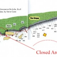 Interesting Closure At The New River Gorge