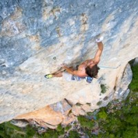 Sharma Flashes 300 Ft. 5.14b At Roc Trip Millau