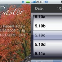 Spraycaster Climbing Logbook App For iPhone/iPod Touch
