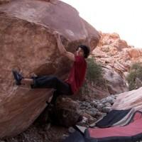 Paul Robinson On Red Rocks Bouldering