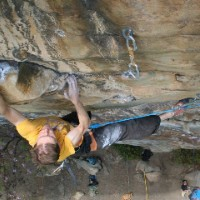 Potential New 5.14b At The New River Gorge