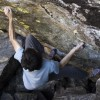 RMNP Bouldering:  Paul Robinson Working Top Notch Project