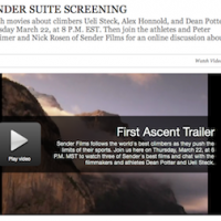 Sender Films Screening On Outside Online Tonight