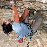 Chris Sharma Opens New 5.15 In Santa Linya