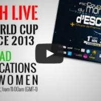 2013 IFSC Lead World Cup – Valence Live